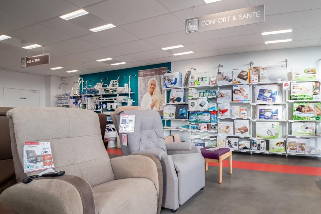 Un magasin spacieux et lumineux à Reims